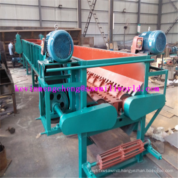 Log Debarker Machine D4500 Double Rollers Model