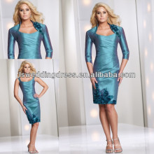 HM2021 Moda pulseira manga longa casaco mãe pavão do vestido da noiva 2012