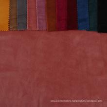 Pure short plush warm tough textiles velour warp knitting dyed ks  velvet clothing suit fabric for clothes