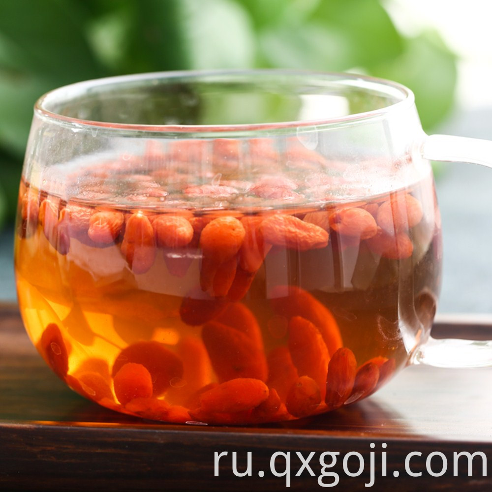 Organic Red Goji Berries for Health