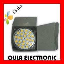 Anti Shock 110v ~ 220v Mr16 Smd Led Spot Light 3w With 24 Pieces 5050 Leds For Store