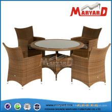 Salle à manger ensemble table à manger et chaises chaise en osier