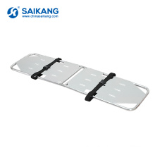 SKB1A09 Aluminum Alloy Foldable Ambulance Carrying Stretcher