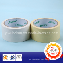Yellow and White Masking Tape for Protection of Decoration Area