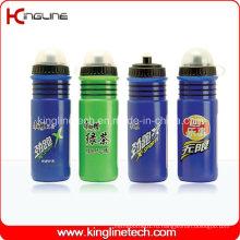 Пластмассовая бутылка воды спорта, пластичная спортивная бутылка, бутылка спортов 700ml (KL-6715)
