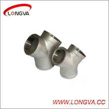 Stainless Steel Pipe Fitting Female G Tee