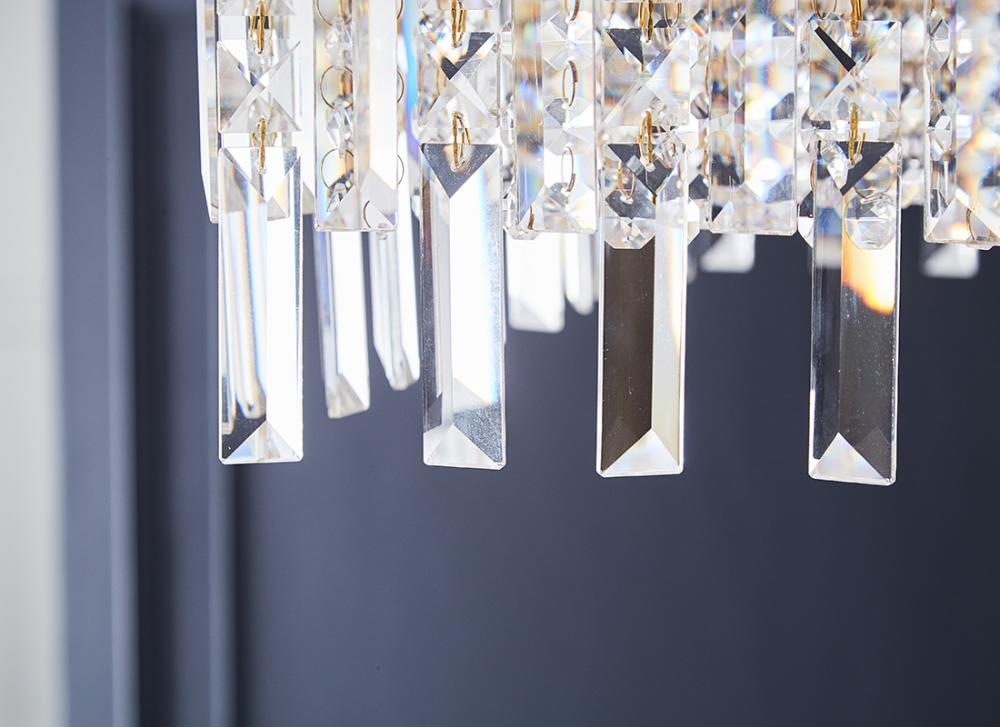 Crystal Ceiling Light art
