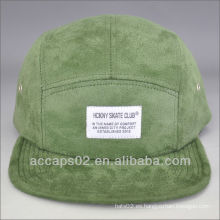 Sombrero de ante de 5 paneles