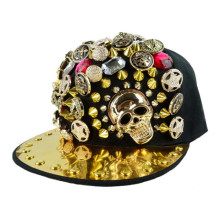 Sourcing fashion snapback spike rivet cap