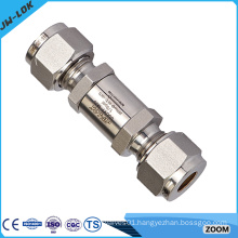 High quality one way ferrule check valve,brass one way check valve
