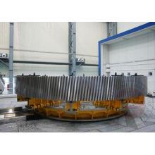 Carburizing Furnace Gear Forging Flange OEM / Forged Ring G