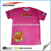 sublimation printing t-shirts for men, fashion promotional t-shirts with logo and words printing