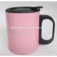 Bestseller-benutzerdefinierte täglich brauchen Steinzeug mit großer Griff Kaffeebecher