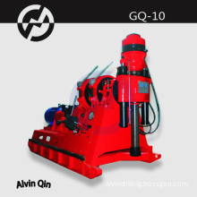 hydraulic drill rig GQ-10, construction drilling machine, easy operation
