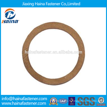 Fournisseur chinois Meilleur prix Anneaux d'étanchéité en cuivre / acier inoxydable DIN 7603