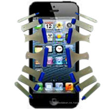 Rodillo adhesivo de silicona para limpiar la pantalla del teléfono móvil