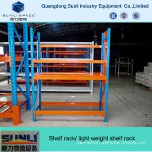 Metal Decking Shelving Rack with Steel Plate
