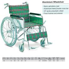 """24"""" Spoke Air Tire Aluminum Wheelchair"""