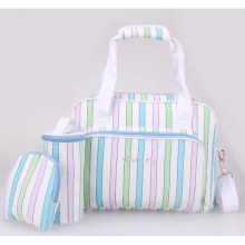 Colorful Stripes Portable Three Pieces Mummy Bag