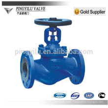 Stainless steel DIN bellows globe valve drawing