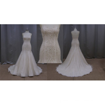 Wedding Dress Champagne Color New Fashion