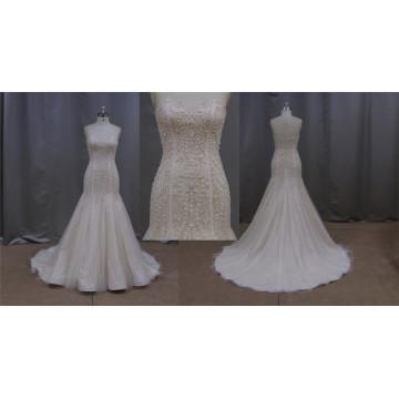 Wedding Dress Champagne Color New Fashion