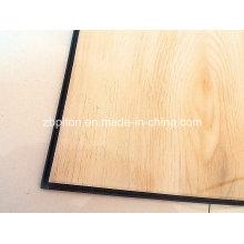 Plancher de vinyle de PVC de 5.0mm durable avec le système de clic