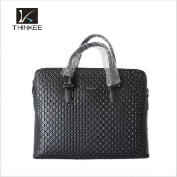 Waterproof Custom Design Man Genuine Leather Bags Brands Famous Handbag