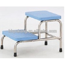 Two-step footstool for hospital F-36-1