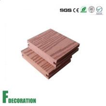 Plancher extérieur composé en plastique en bois de 96 * 20mm WPC