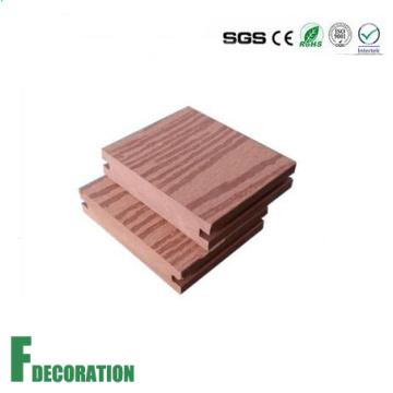 Piso al aire libre compuesto de madera del piso de madera de 96 * 20m m WPC