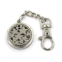 Cheap Custom Zinc Alloy Jewelry Diffuseur Locket Key Chain