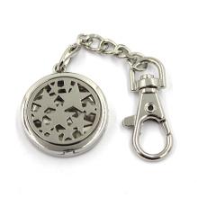 Cheap Custom Zinc Alloy Jewelry Diffuseur Locket Key Chain