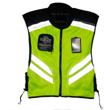 Riding Tribe Reflective Vest Clothing Motorcycle Night Rider Cycling Safety Security Visibility Traffic Outdoor Sports