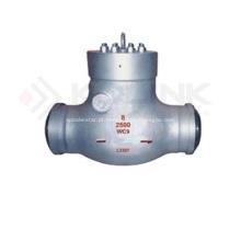 Válvula de retenção de selo de pressão aço fundido
