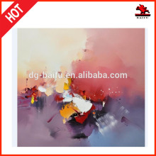 Home wall decoration abstract oil paintings frame photos on canvas