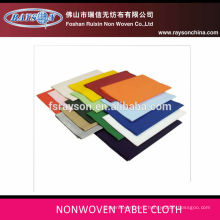 Home decoration wall paper ,pre-cut printed table cloth