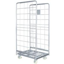 Recipientes de gaiola fábrica preço rolo, rolo de armazenagem de cargas contentores, carrinhos de recipiente do rolo