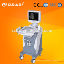 Escáner de ultrasonido con carro de alta resolución y máquina de ultrasonido para escanear el cuerpo DW350