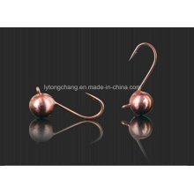 5g (dia8mm) Tungsten (round) Ice Jigs in Copper Color