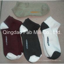 Chaussettes de chanvre pour le sport (HPS-001)