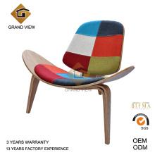 Tela cojín sillón madera Shell (GV-CH07)