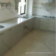 Dessus de cuisine moderne îlot / plan de travail de cuisine / plans de travail en pierre
