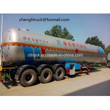3 Axle 40.5 Cbm LPG Tanker Semi Trailer, Best LPG Tank with Cheap Price