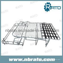 Tres sofá plegable mecanismo