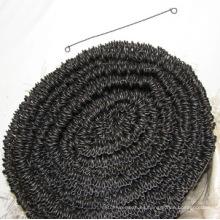 Alambre recocido negro del lazo del lazo