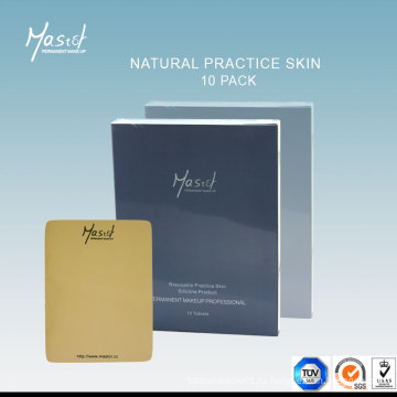 Постоянная практика макияжа Поддельная кожа