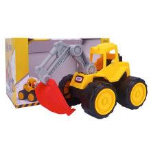 Boy Play Camión de construcción de camiones de deslizamiento