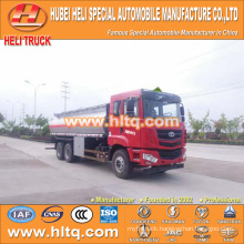 CAMC 6X4 fuel tank truck 20000L cheap price made in China