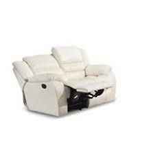 Sofá de sala de estar de couro genuíno (801)
